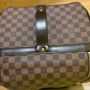LouisVuitton Rolling Monogram Leather-Carry-On Bag